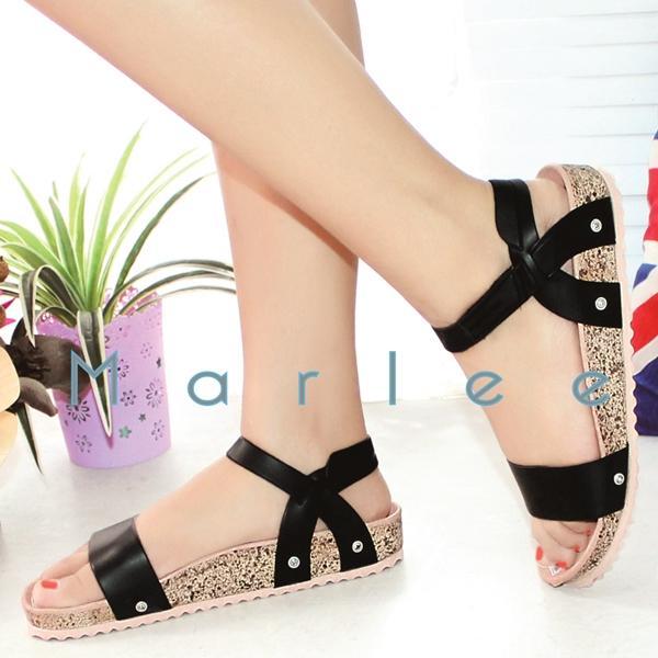 Marlee Flatbed Sandal Santai Wanita IB-10