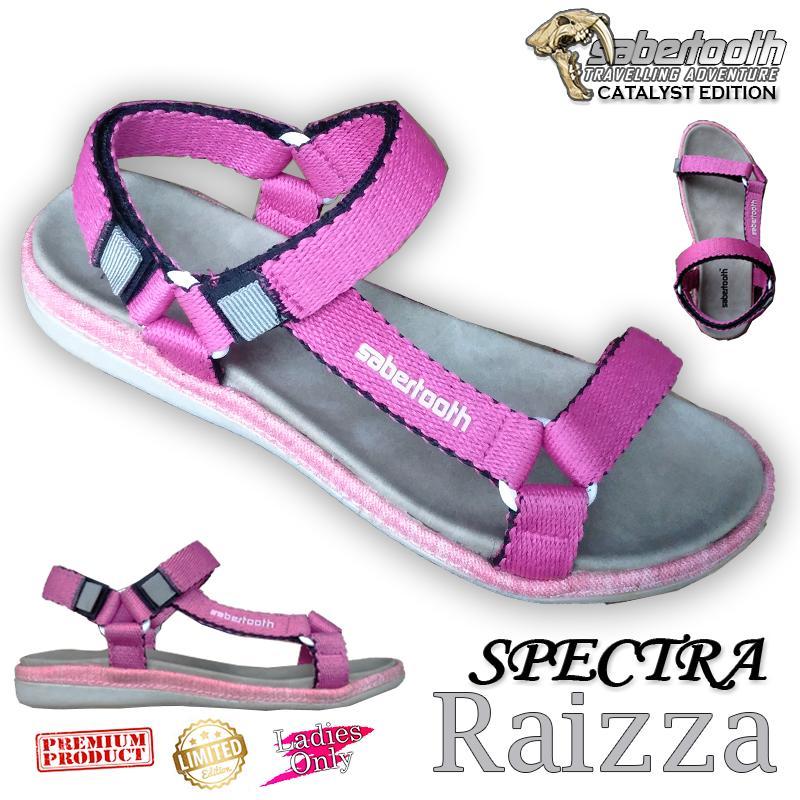 Sabertooth Sandal Gunung / Travelling / Traventure Spectra Raizza Size 36 s/d 40