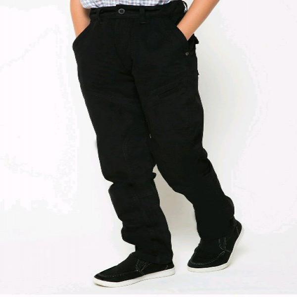 Celana Panjang Anak Laki-laki Nevada Hitam