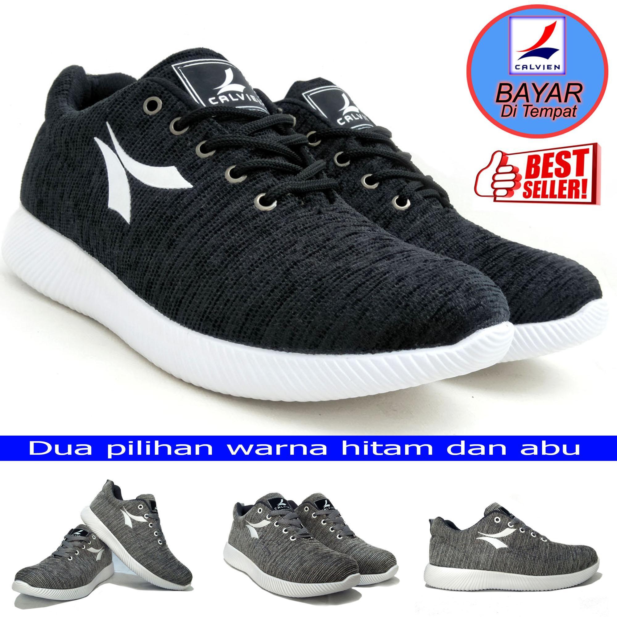 Calvien Sepatu Pria Sneakers/Sepatu Pria Kets/Sepatu Olah Raga/Sepatu Kasual Kode CL-03