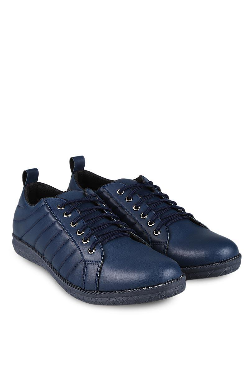 Yongki Komaladi Sepatu Sneaker Fashion Pria Batara Navy