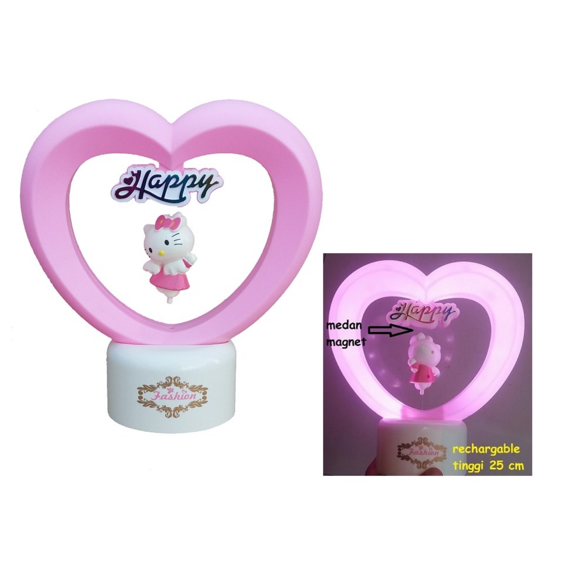 Hello Kitty Karakter Lampu Happy Valentine