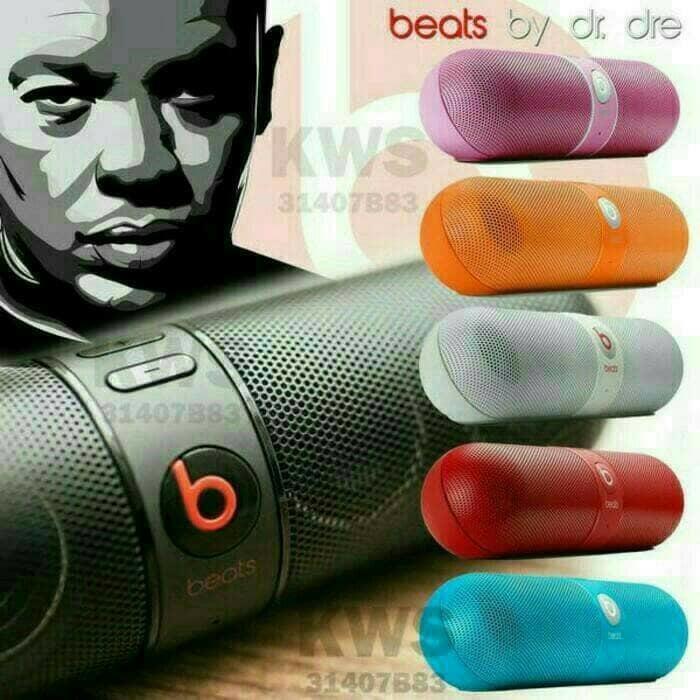 Referensi speaker beats  pill speaker aktif / speaker laptop / speaker super bass