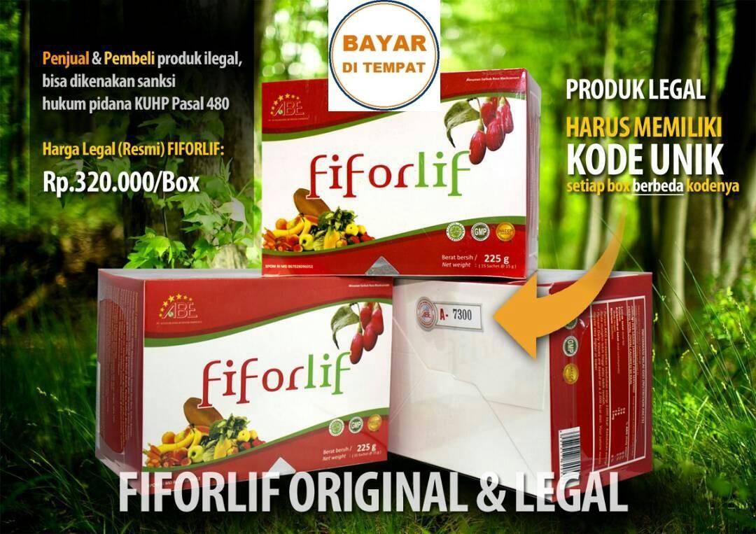 Fiforlif Original & Legal Bandung Serat Fiber Detox Atasi Perut Buncit