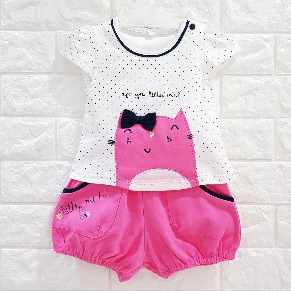 Miko Setelan Baju Anak Bayi Perempuan Baby Girl Cute BONEKA LUCU