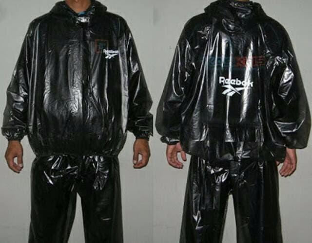 PROMO Jas Hujan Sauna Suit Jaket Reebok JUMBO XXXL BEST SELLER - OnrDWt