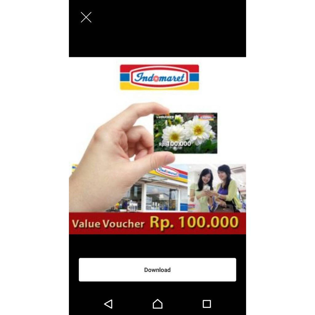 Jual Voucher Indomaret Rp Murah Garansi Dan Berkualitas Id Store Vocer Kupon Senilai 50rb 688000