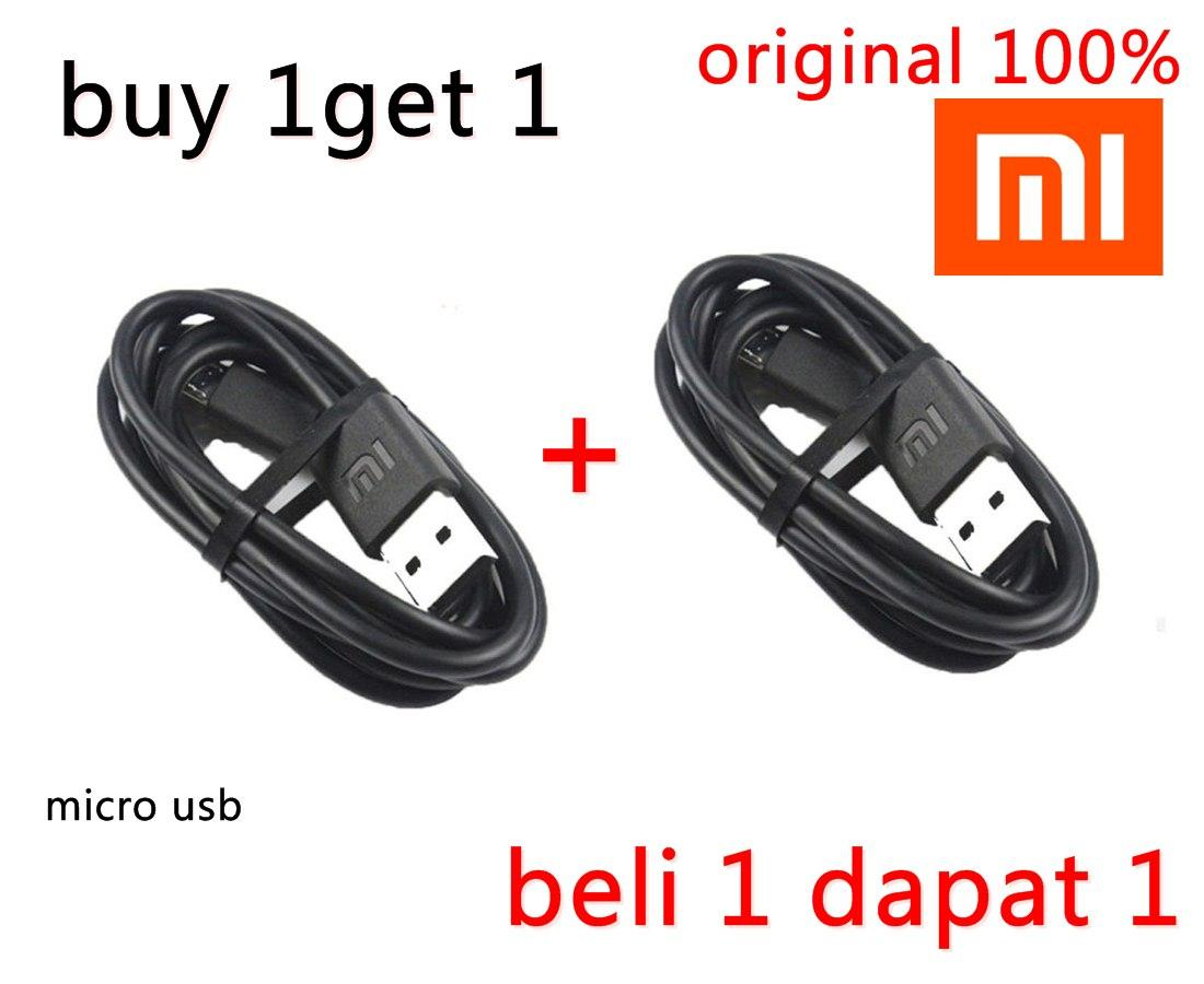 buy 1 get 1Xiaomi Original Micro USB and Data Sync Cable Charger 2A