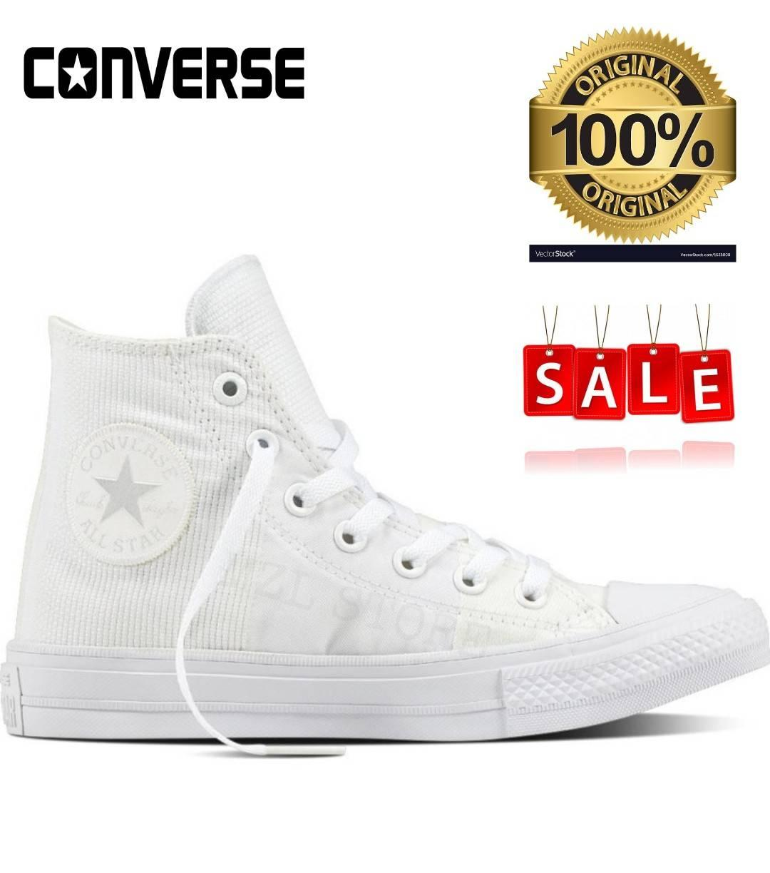 Converse As Double Tounge Ox Hitam Merah Abu Daftar Harga Ct Fancy 549624c Pink Chuck Taylor All Star Ii Engineered Womens Hi 155418c White