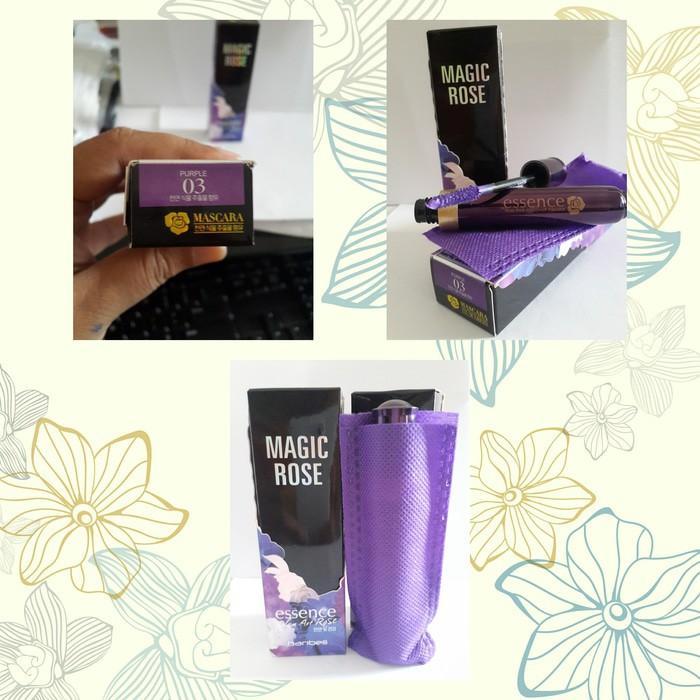 Promo PURPLE/UNGU ( 03 ) MASCARA MAGIC ROSE ESSENCE HANBEILI 1604 Terlaris Dan Termurah