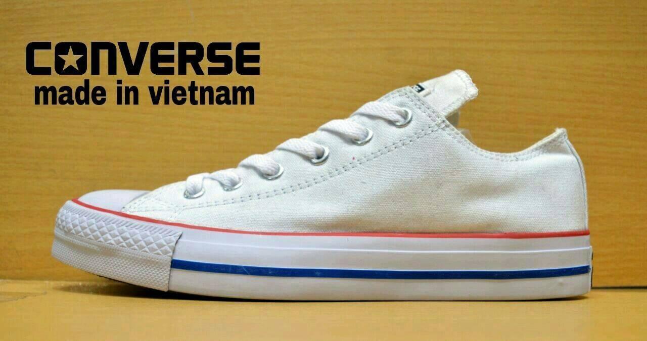Sepatu Sneakers Skate / Kets Converse Unisex Pria / wanita Asli Classics Low Original