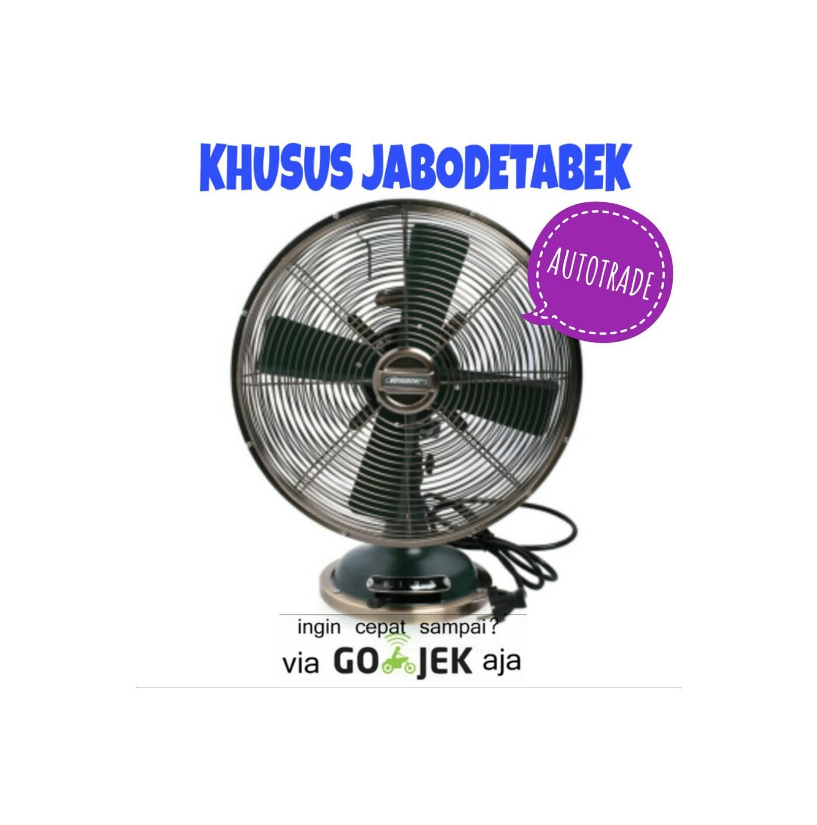 KIPAS ANGIN MEJA KRISBOW UNIK KLASIK 30 CM 35 W 12 inch