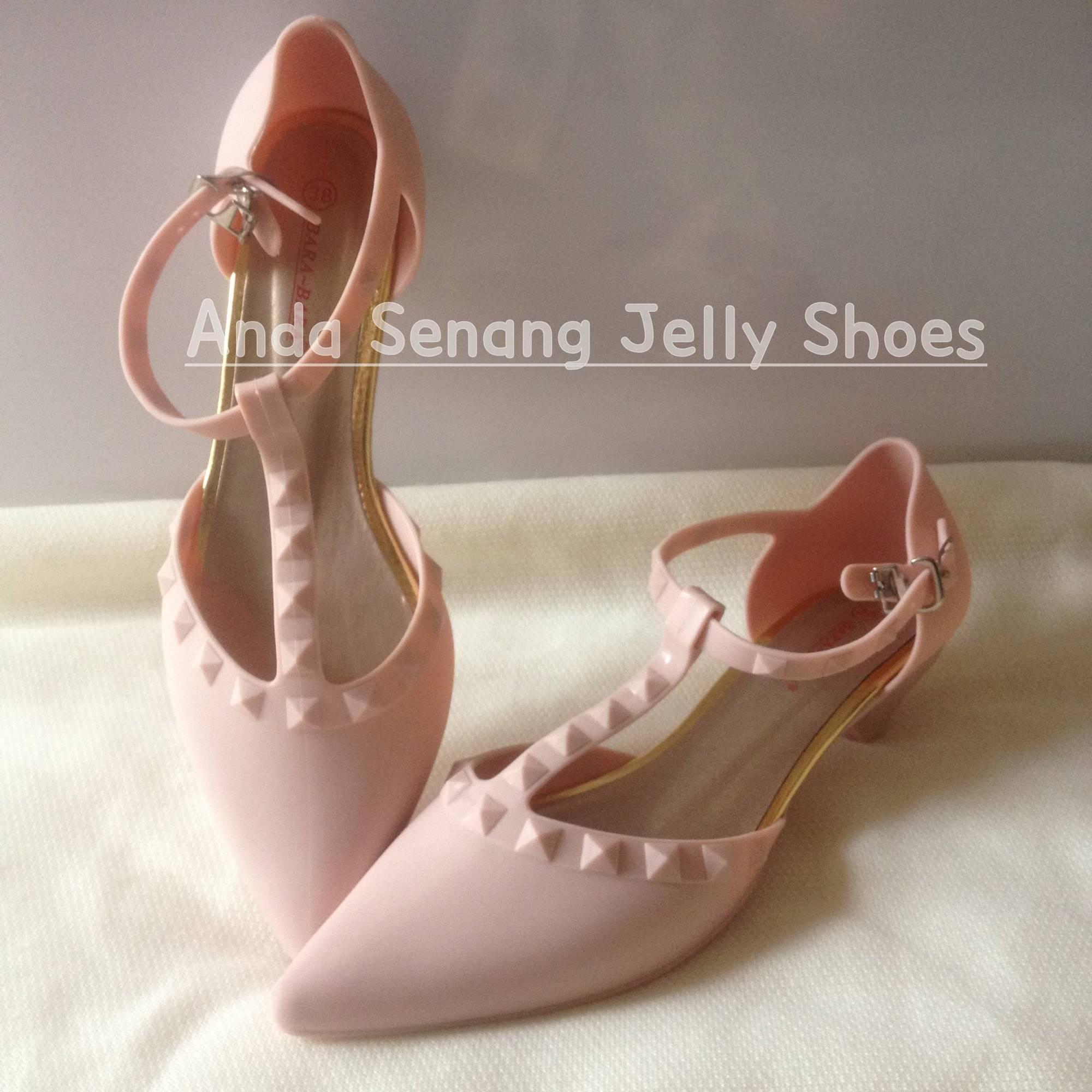 Buy Sell Cheapest Jelly Shoes Lancip Best Quality Product Deals Yumeida Sepatu Kerja Stude Wanita