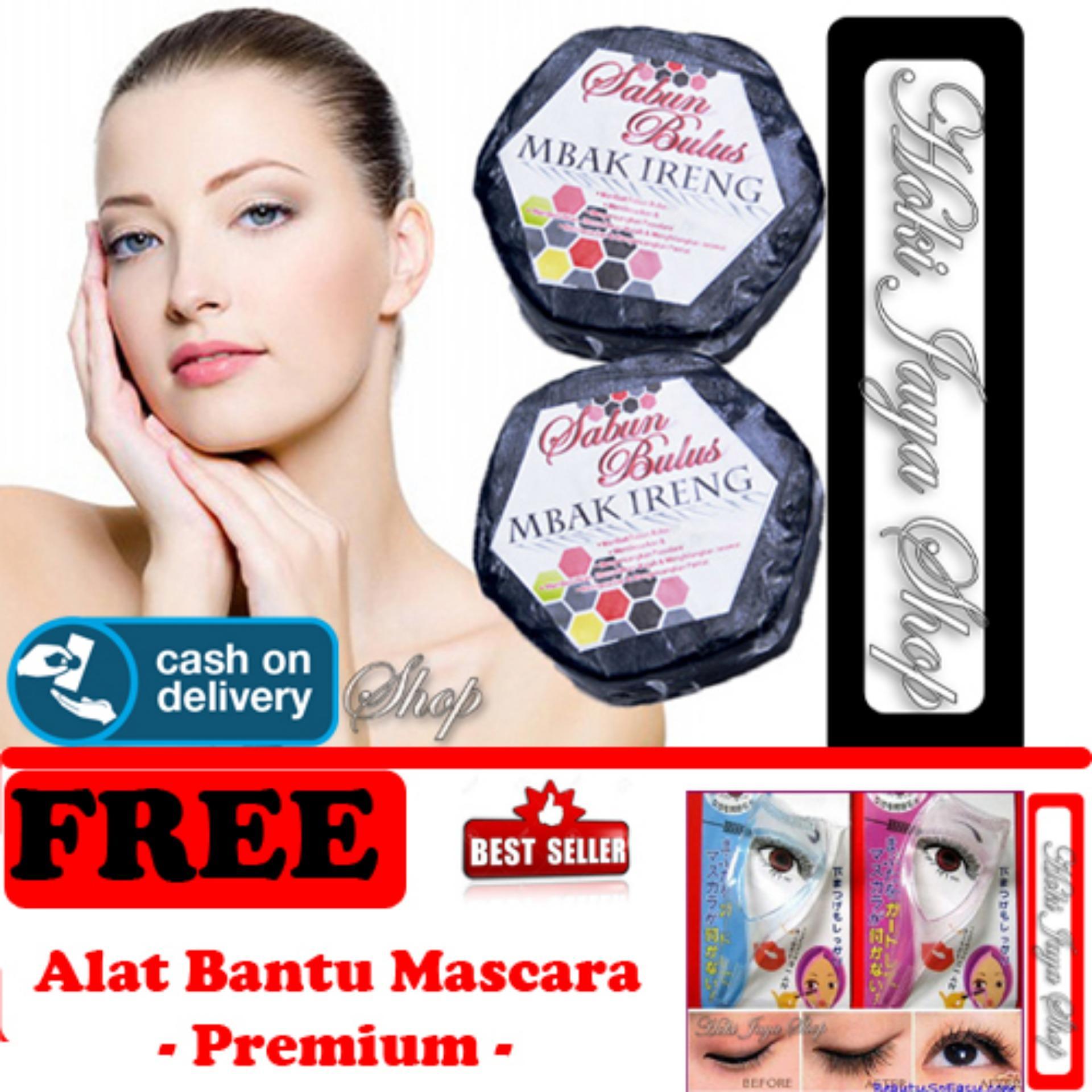HOKI COD - Sabun Bulus Original Mbak Ireng - Hitam FREE Mascara Helper - Alat Bantu Maskara - 1 Pcs