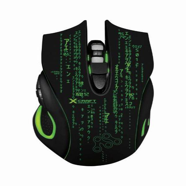 Termurah Powerlogic X-CRAFT Z8000noiz Gaming Mouse Higt Quality