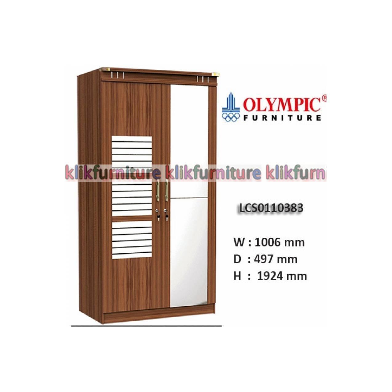 LCS0110383 VIANO Olympic Lemari 2 Pintu