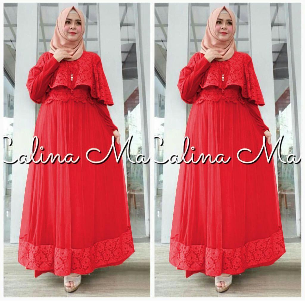 J&C Long Dress Calinama / Gamis Muslim / Dress Maxi / Jumbo Dress / Maxi Jumbo / Maxi Muslim / Maxi Dress / Dress Muslim / Busana Muslim / Baju Muslim / Setelan Muslim / Hijab Fashion / Hijab Style