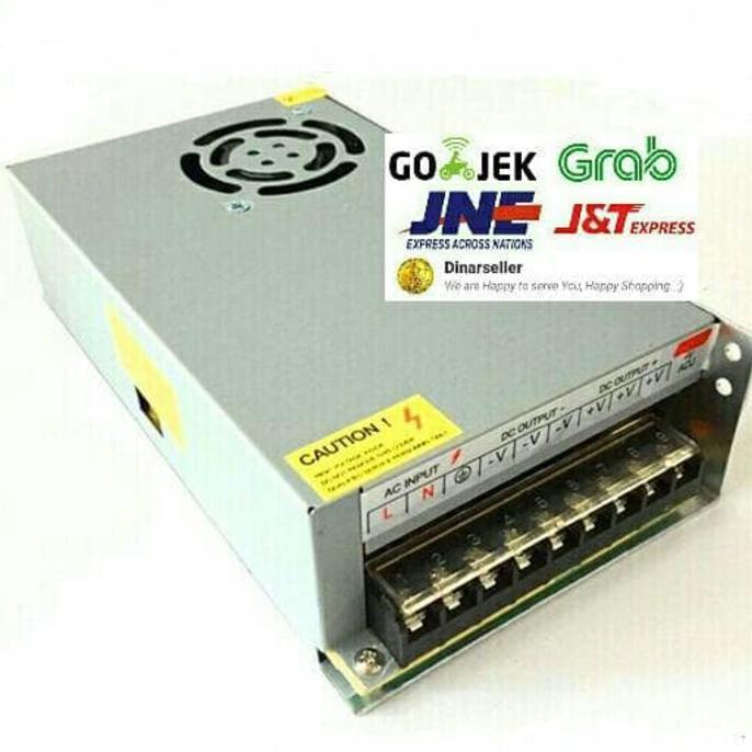 ADAPTOR 12V 20A UNTUK CCTV- LED STRIP- NEON BOX- DLL. - ELEKTROZONE