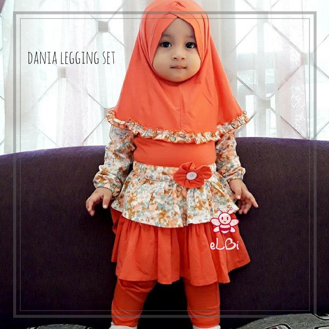 baju muslim anak murah surabaya I gamis anak cantik I Dania