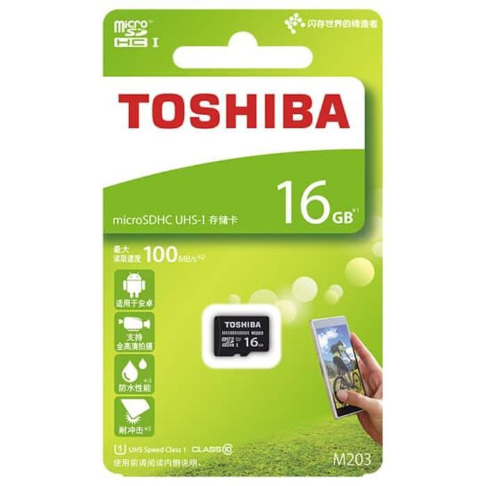 Rp 232.000. Toshiba M203 Microsdhc UHS-I Class 10 ...
