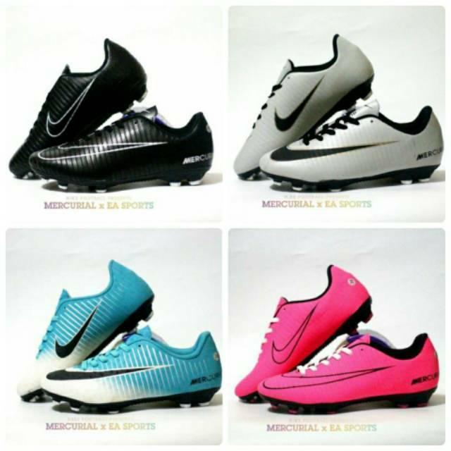 Sepatu Bola Nike Hypervenom Sepakbola Sport Olahraga Cowok Pria Murah Keren Soccer Gaya Terlaris