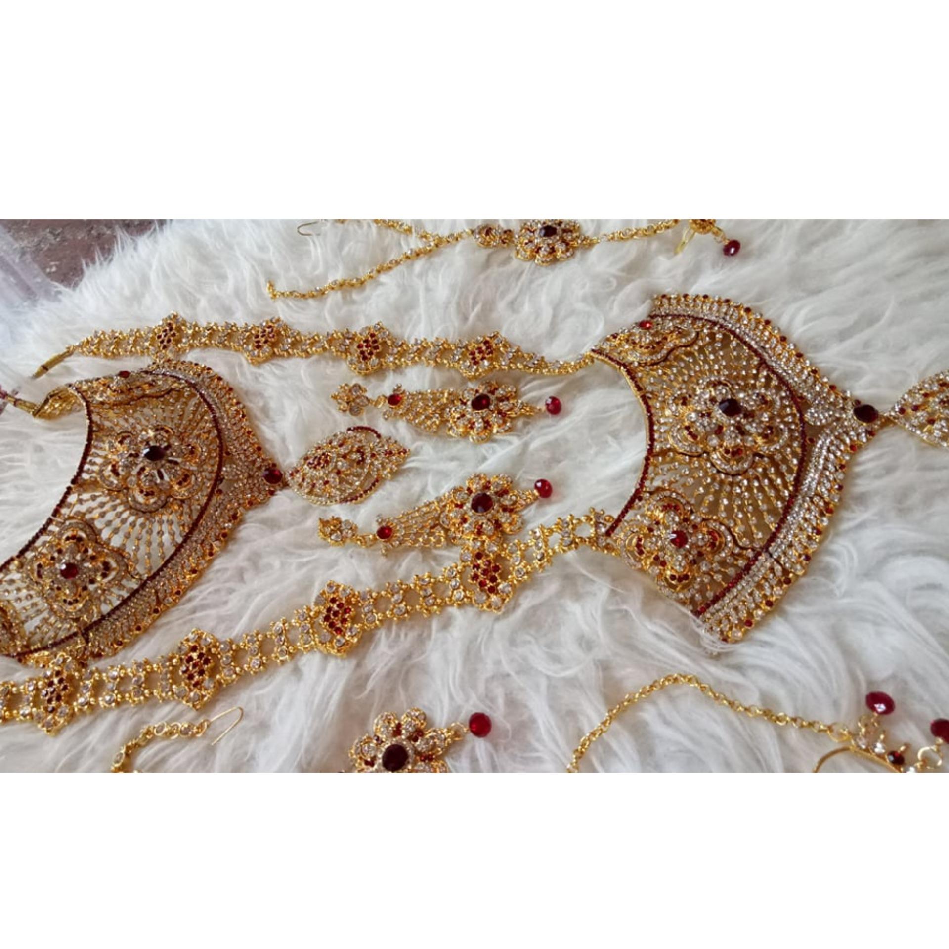 Kelebihan Perhiasan Set Komplit India Terkini Daftar Harga Dan 1 Detail Gambar Terbaru