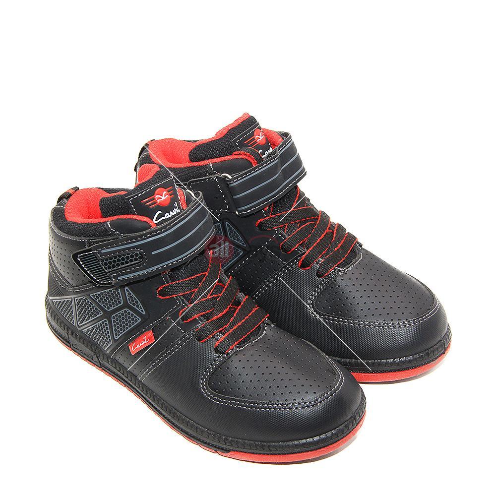 Carvil Sepatu Sneakers Sekolah Anak Laki Laki Gotham-C - Black