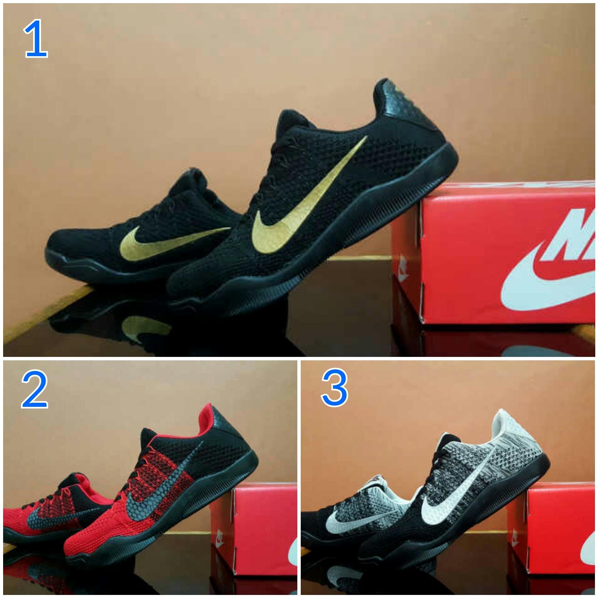 Promo Sepatu Pria Olahraga Fitnes Nike Kobe 11 Premium Made In Vietnam Murah Diskon
