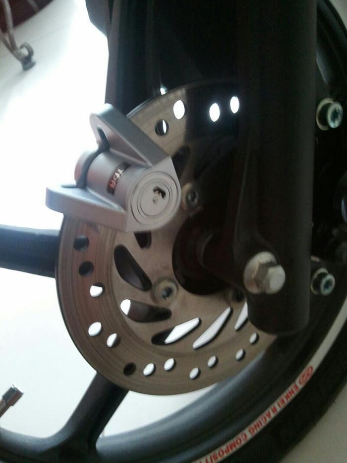 Kunci Cakram / Disc TDR Triangle gembok pengaman motor anti maling - RqVCpK