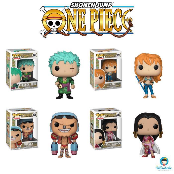 Funko POP! Set Promotion - One Piece (Roronoa Zoro, Nami, Franky, Boa)