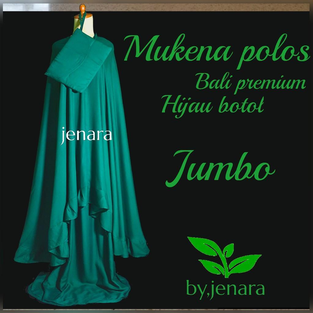 Mukena Bali Jenara Ijo Botol Gamis Baju Muslim Wanita Syari Jumbo Model Terbaru Harga Promo