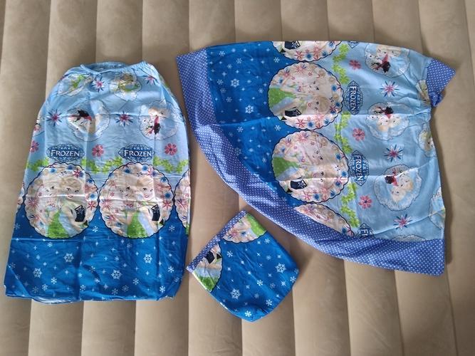 mukena bali anak 2,5-4 tahun motif frozen