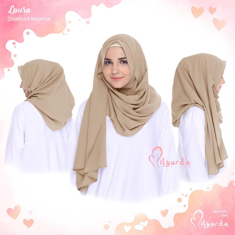 Hijabku Murah Jilbab Instan Laura - [Warna Coksu]