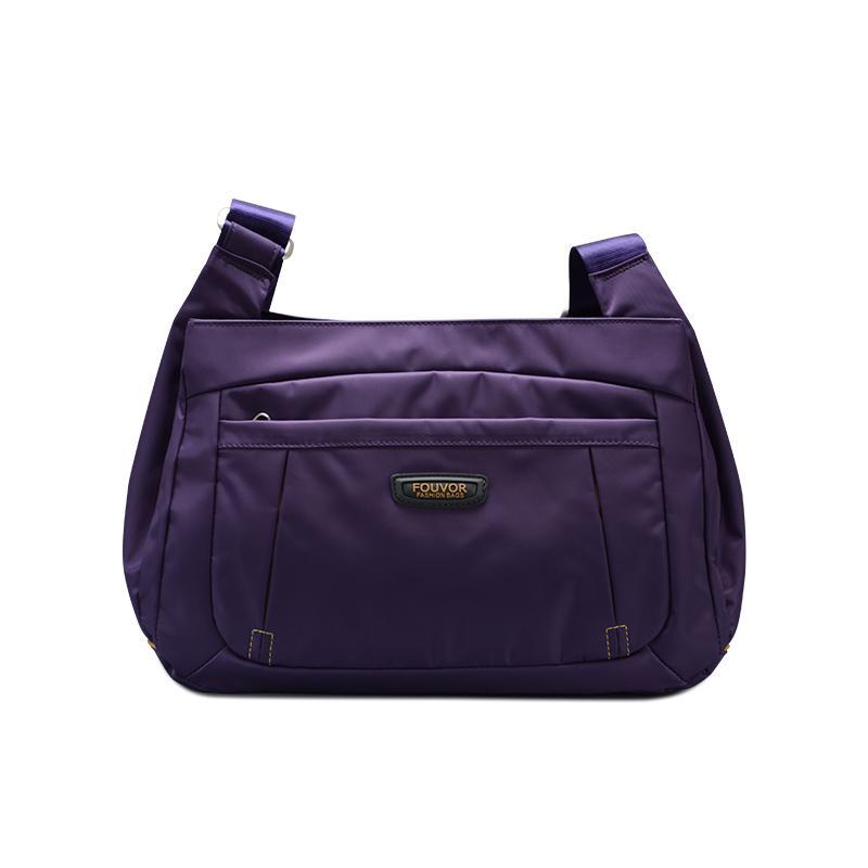 f921605f49ca Brand Leisure Female Cloth Bag Shoulder Bag Nylon Oxford Cloth Women s Bag  Compartments Travel Women s Messenger
