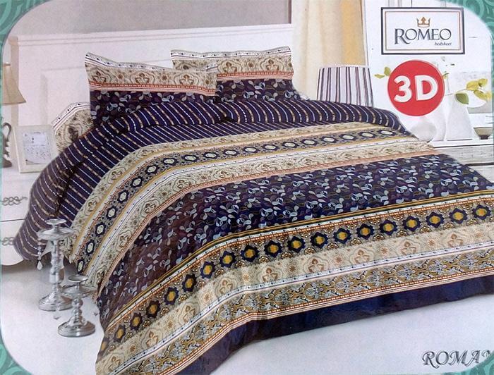 Bedcover Romeo Ukuran 120 X 200 - Roman By Mapshop.
