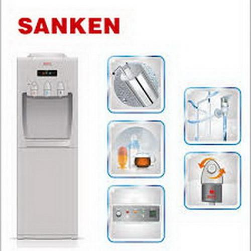 Sanken Dispenser HWD760 Putih (3 Kran Hot Cool Normal)