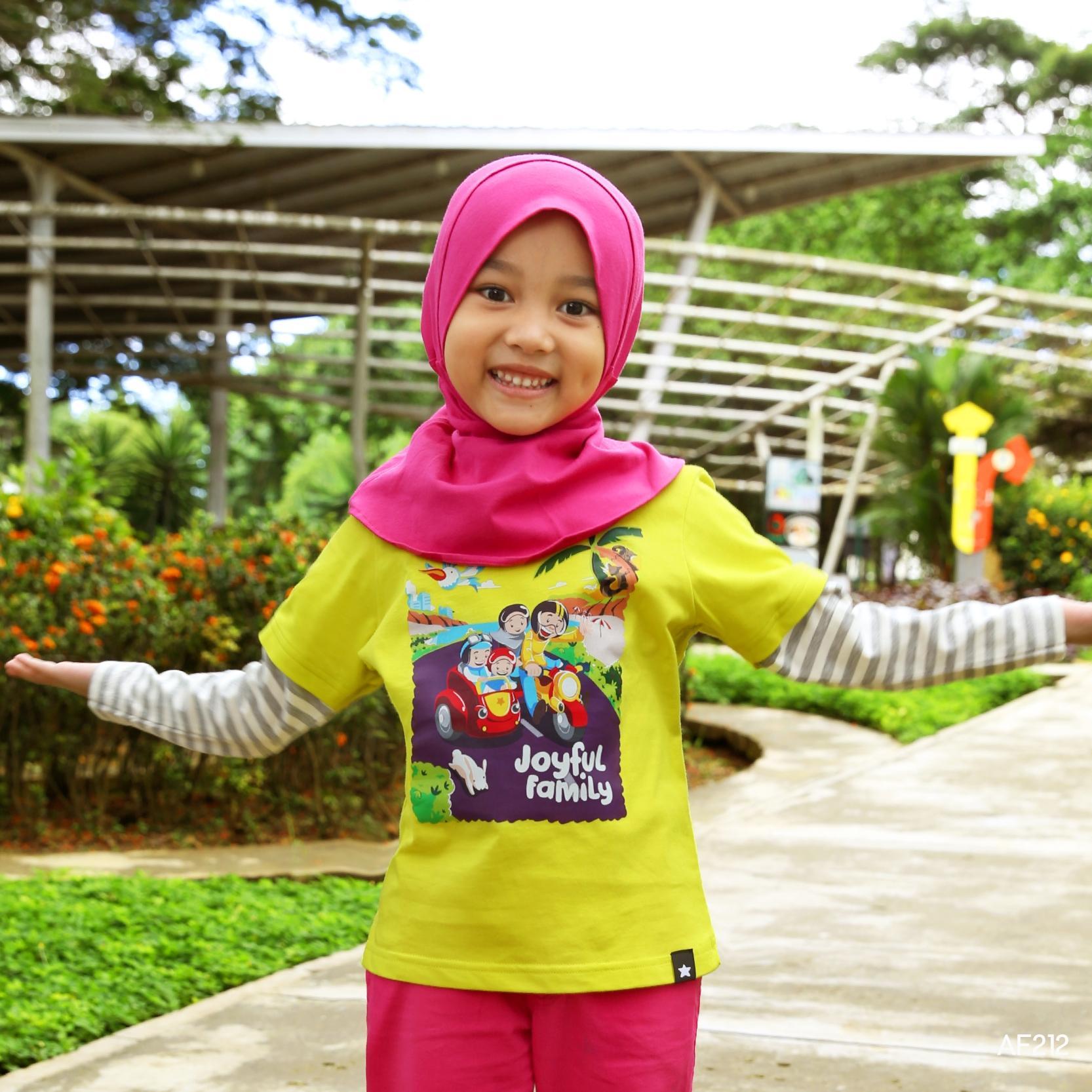 Afrakids Kaos Anak AF212 Joyful Family