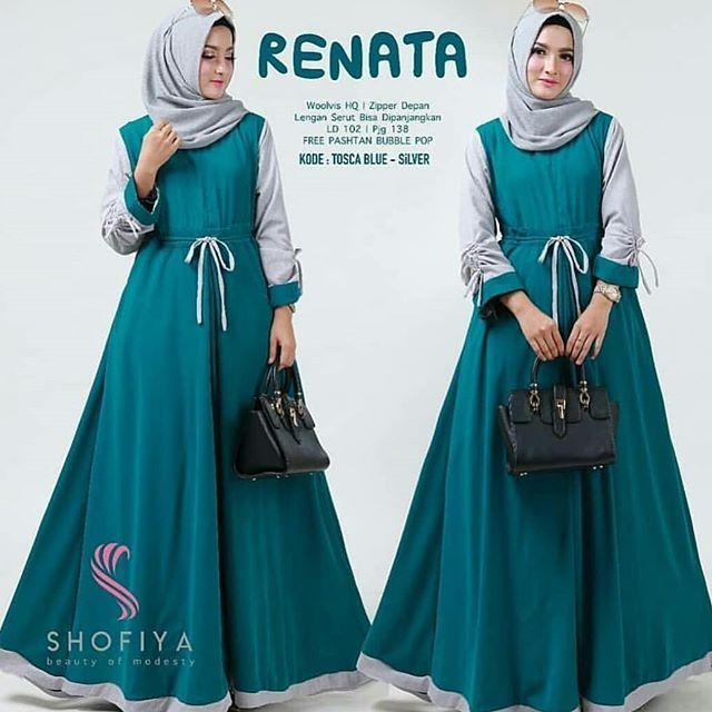 Baju Muslim   Jumpsuit. Dress Wanita b908482de9
