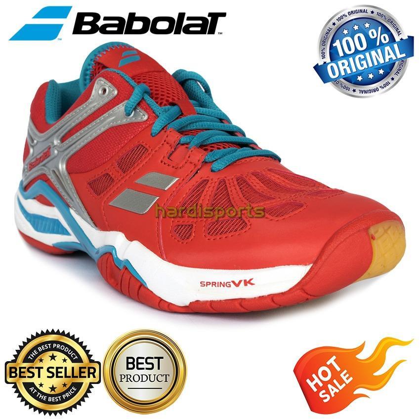 Sepatu Pria Badminton - Volley - Tenis Meja Babolat Shadow 2 M (Rubber by Michelin)