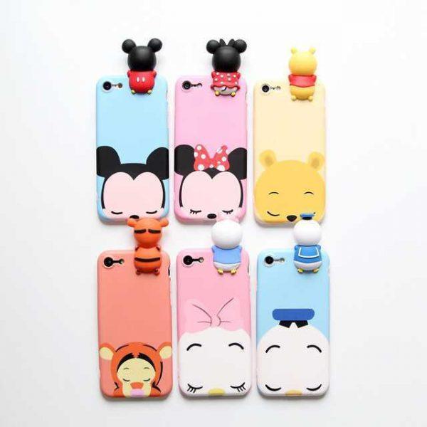 Case Samsung Galaxy J5 Prime PU Tsum Tsum Figure Disney Soft Case Back Cover Motif Karakter Casing Hp Lucu Trendy Terbaru