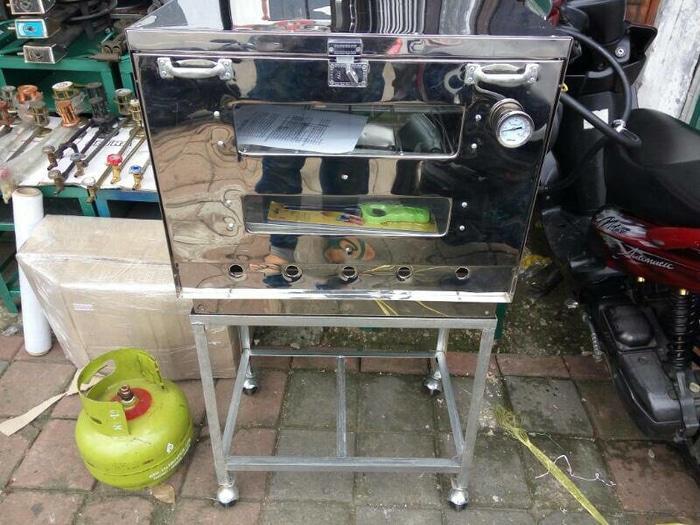 oven gas murah 60x40 + termometer via ekpedisi