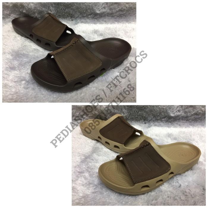 Promo Clearance Sale! Sandal Selop Pria Crocs Yukon Messa Slide Original Gratis Ongkir