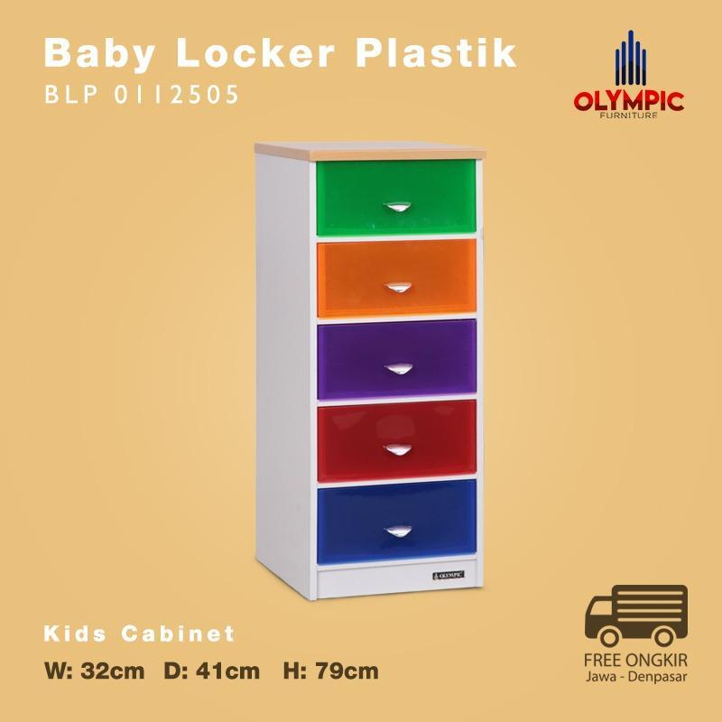 Olympic Baby Locker Plastik Laci Plastik - BLP 0112505 - Khusus Jawa Denpasar