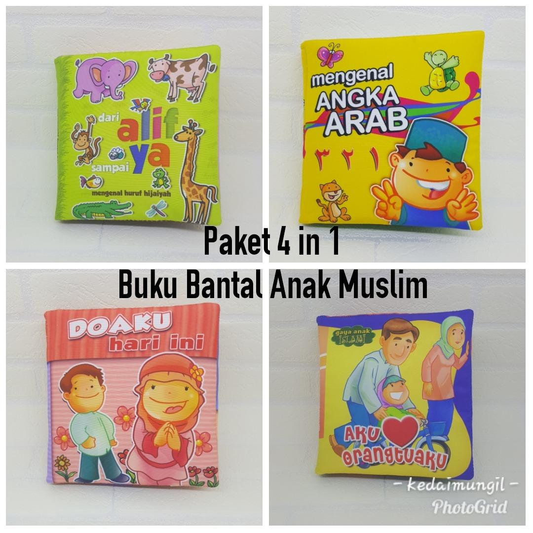 Paket Hemat Buku Bantal Seri Anak Muslim (4 buku)
