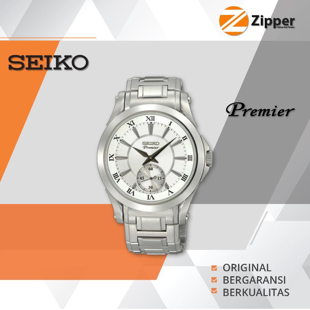 Seiko Premier Jam Tangan Pria - Tali Stainless Steel - SRK Series