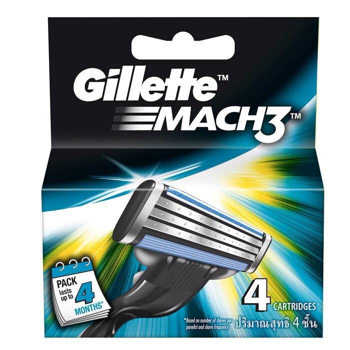 Refill Gillette Mach 3 - 6T5CCh