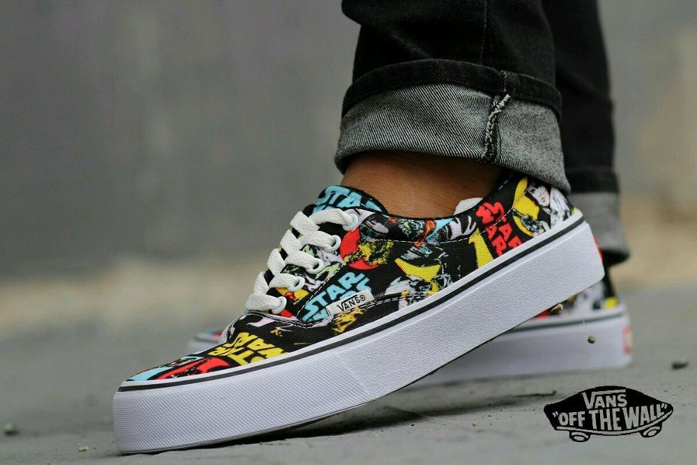 Promo Sepatu vans starwars sneaker pria Diskon