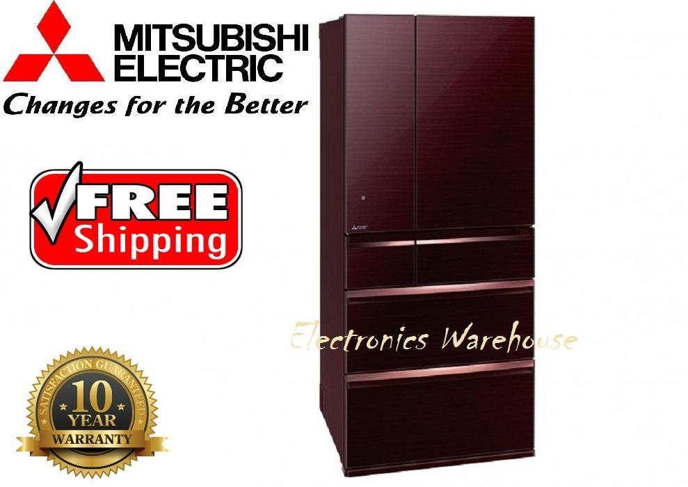 Mitsubishi Kulkas MRWX743YBR-Crystal Brown
