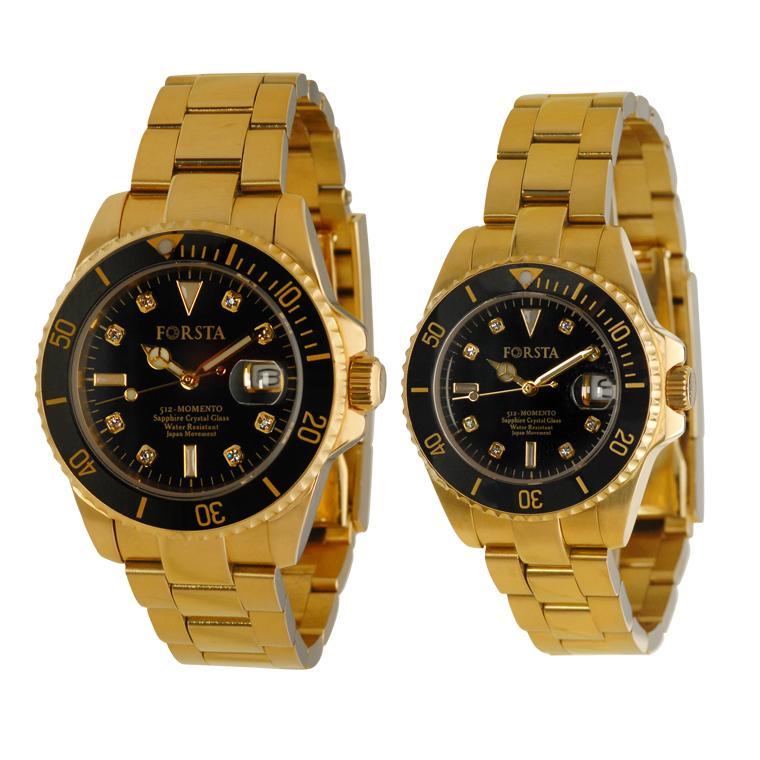 Jam Tangan Kesehatan Forsta Momento Gold Couple