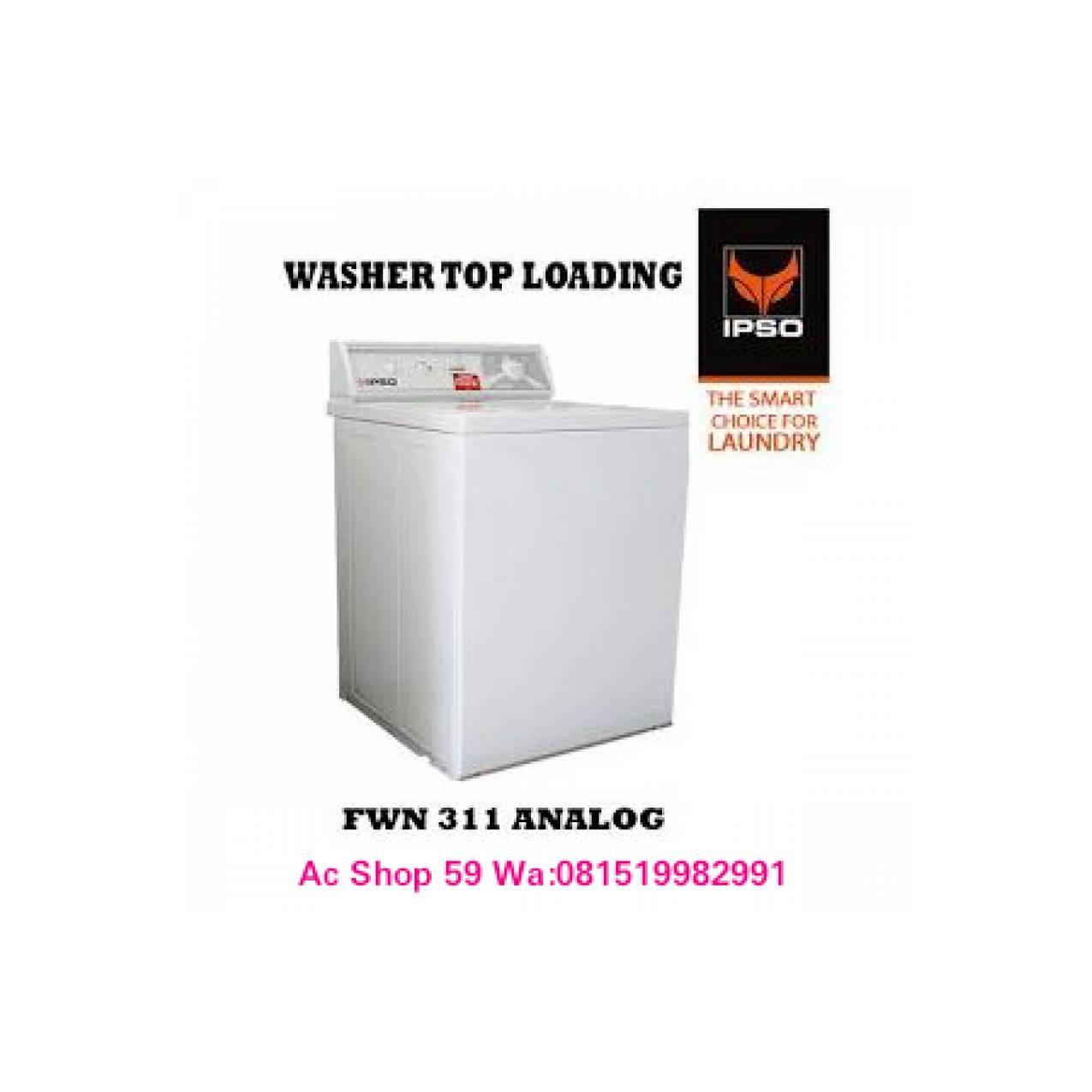 WASHER IPSO FWN-311 MESIN CUCI 10.5 KG LAUNDRY EXPRESS NEW